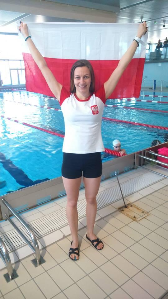 Magdalena Solich, nowa rekordzistka Polski w DNF - 164 m